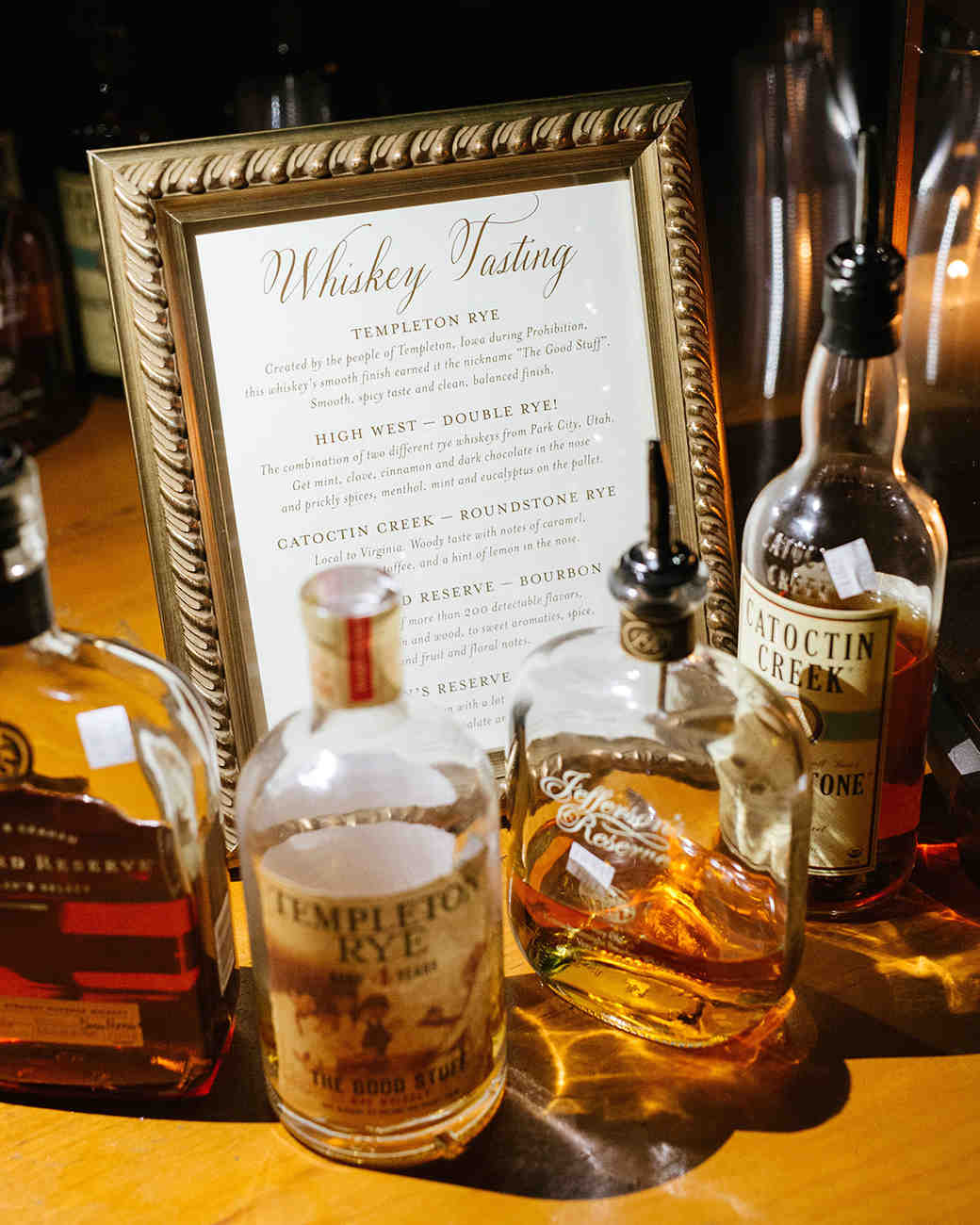 anne and staton wedding whiskey tasting