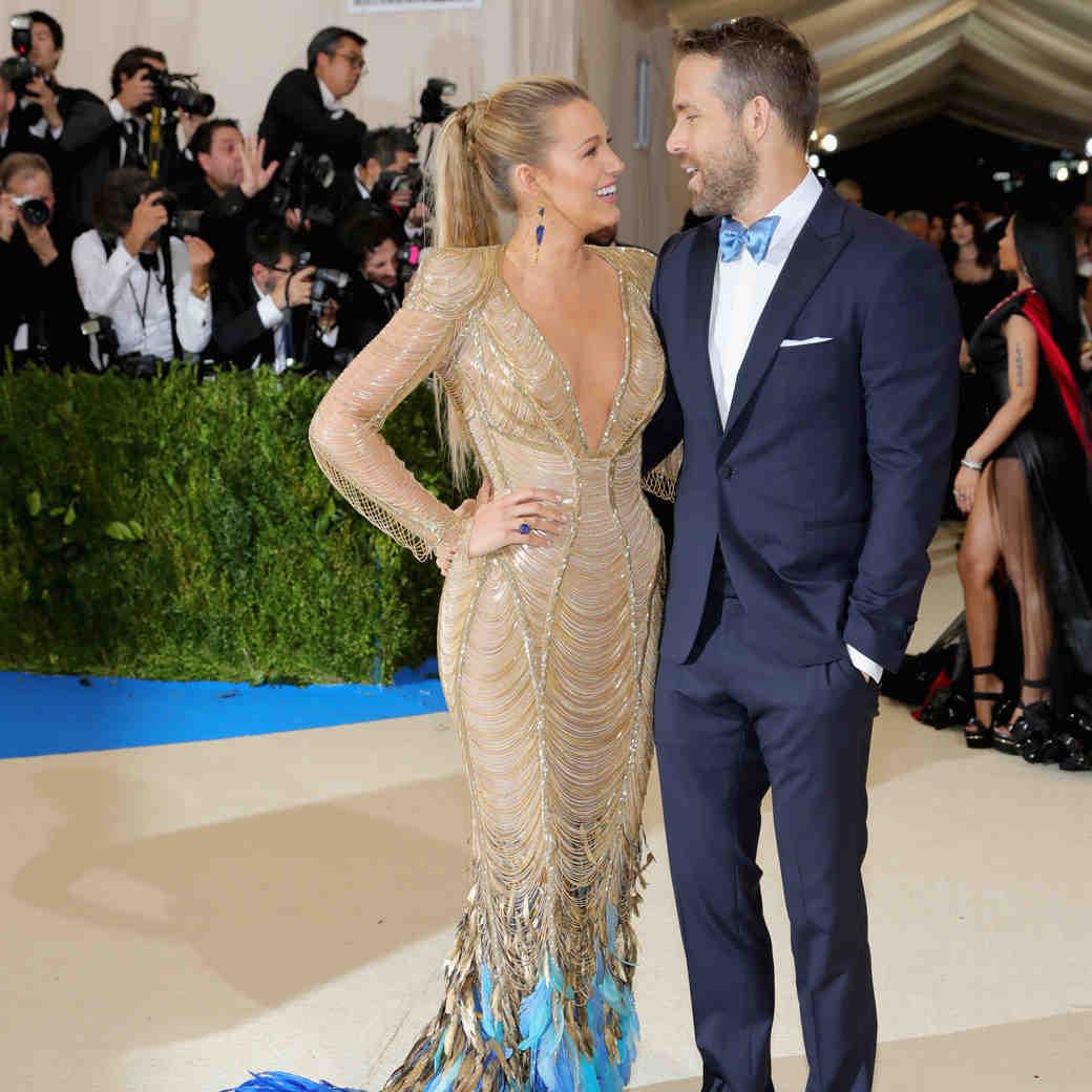 Blake Lively and Ryan Reynolds Met Gala 2017