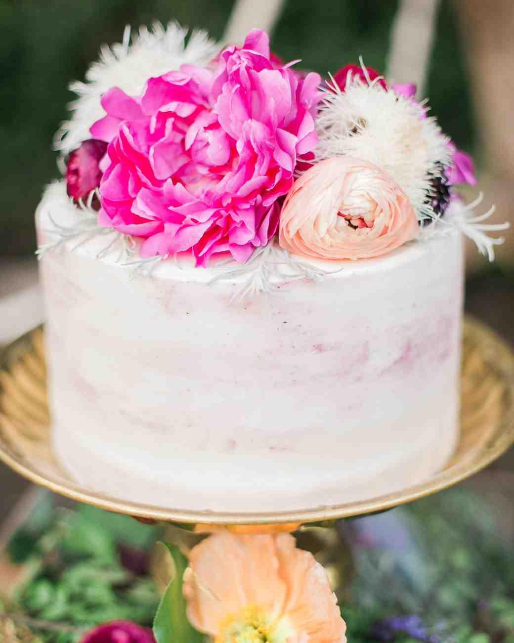 boho chic bachelorette party cake topper