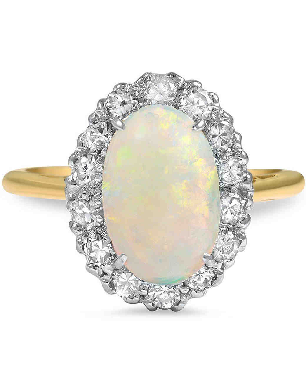 Opal Engagement Rings on oscar heyman band rings