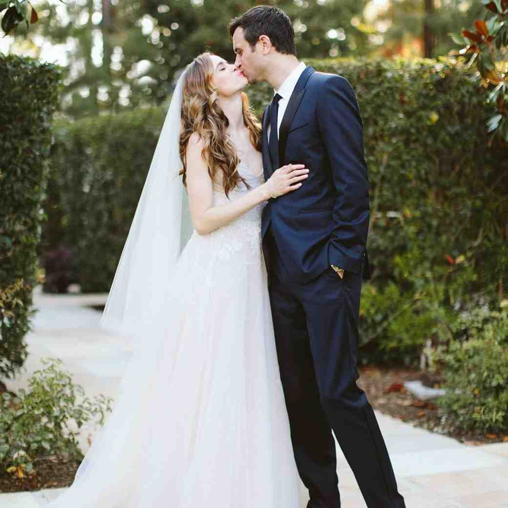 Danielle Panabaker and Hayes Robbins wedding day