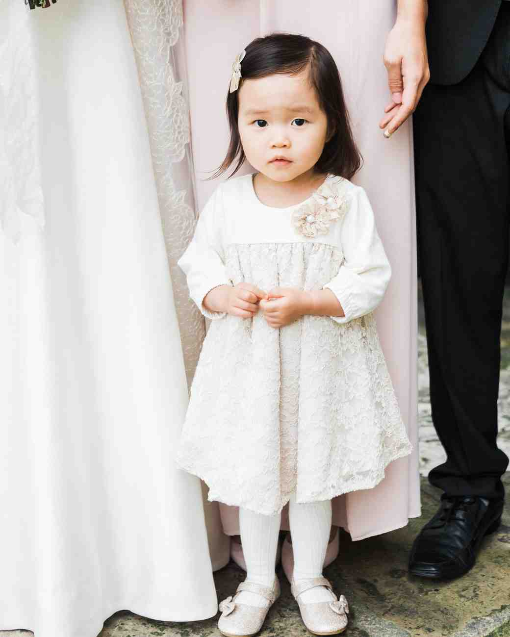 wedding flowergirl
