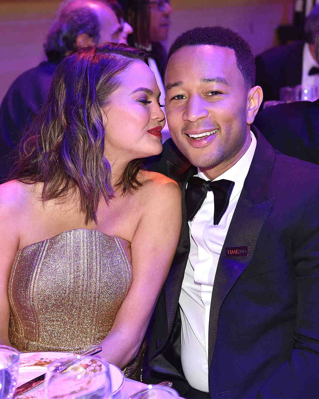 John Legend and Chrissy Teigen Time 100 Gala