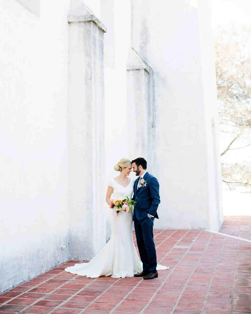 julie anthony real wedding couple
