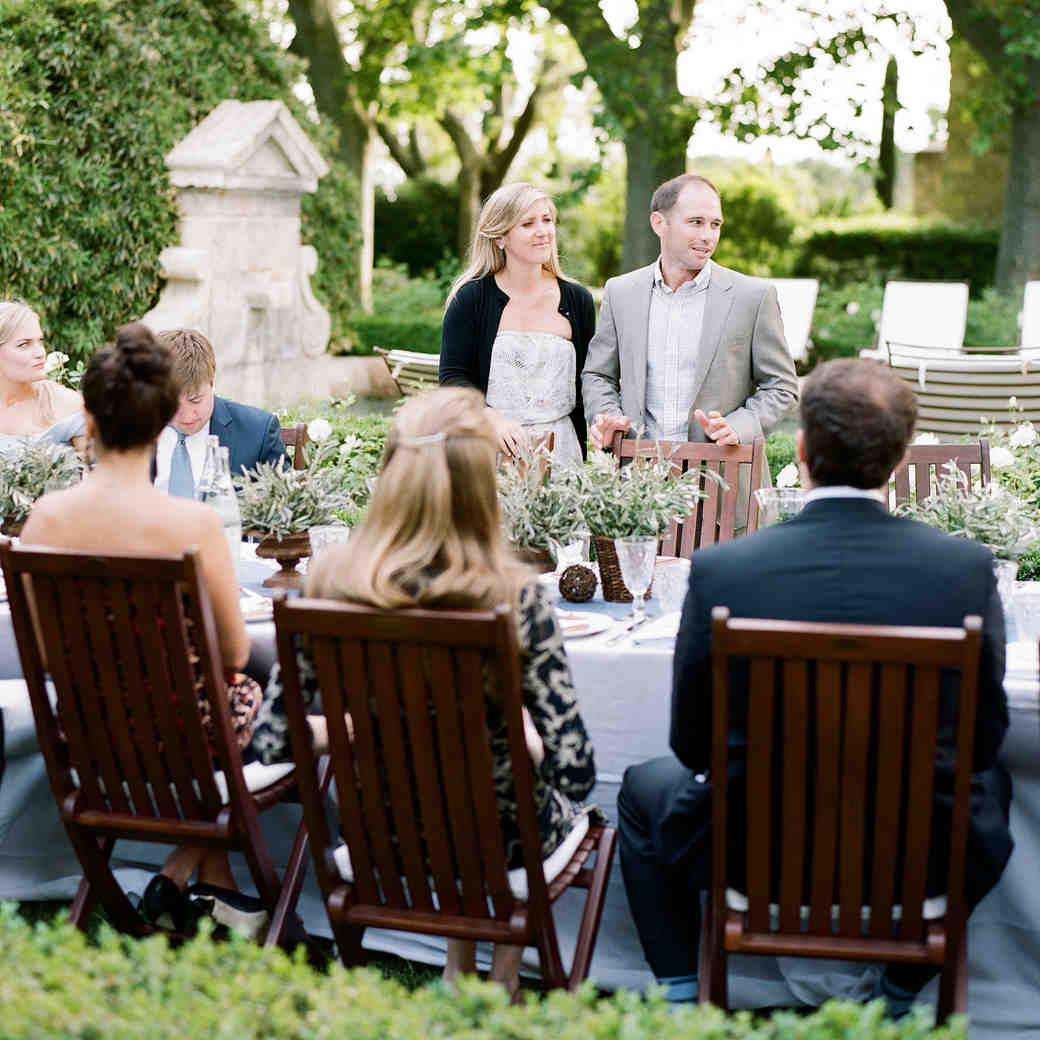 Rehearsal Dinner: Martha Stewart Weddings