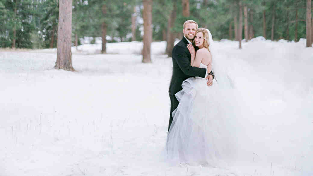 A Snowy Winter Wedding in the Colorado Mountains