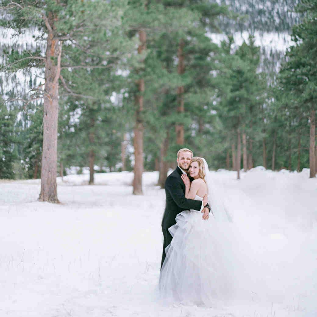 A Snowy Winter Wedding in the Colorado Mountains