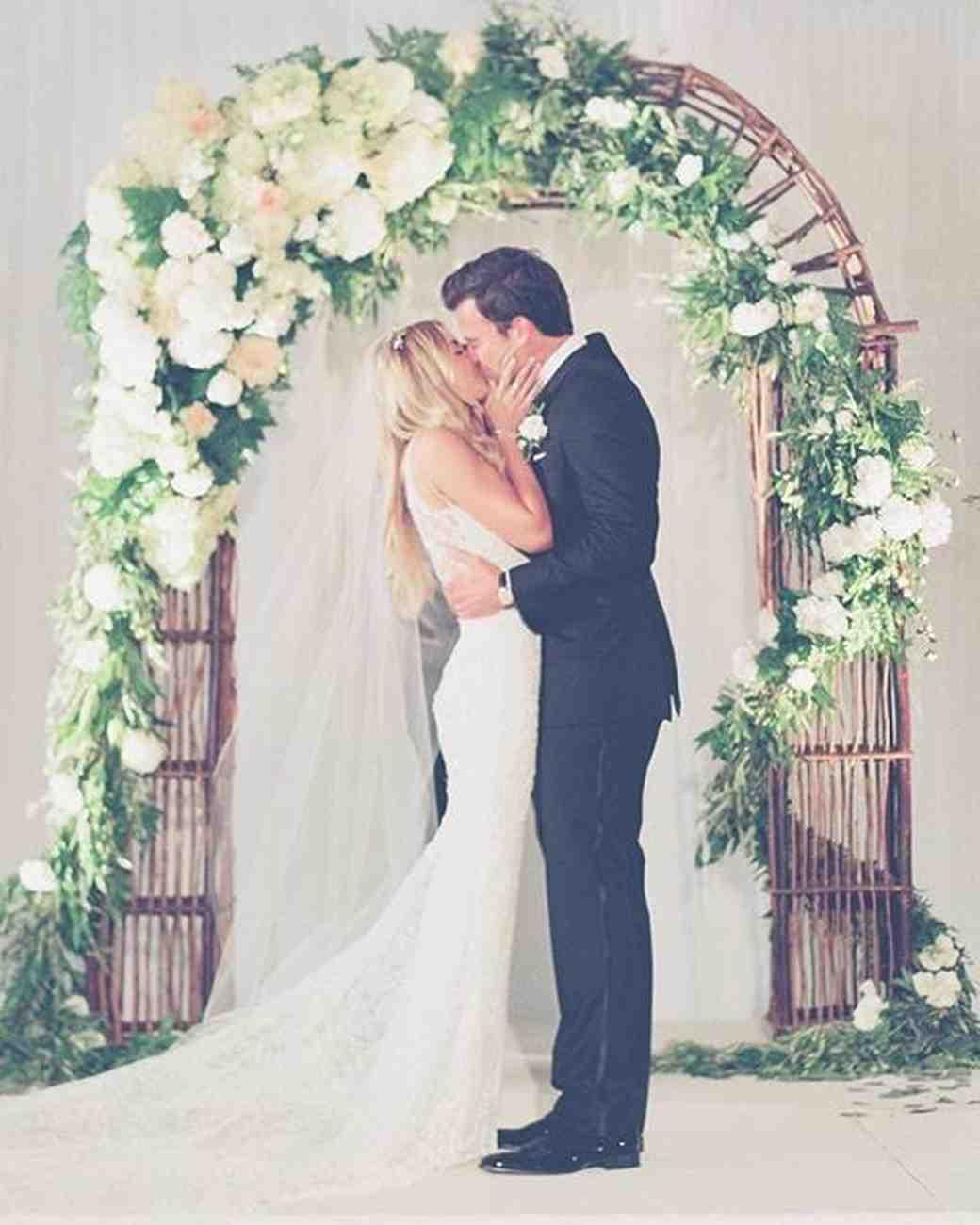 Lauren Conrad and William Tell's wedding photo