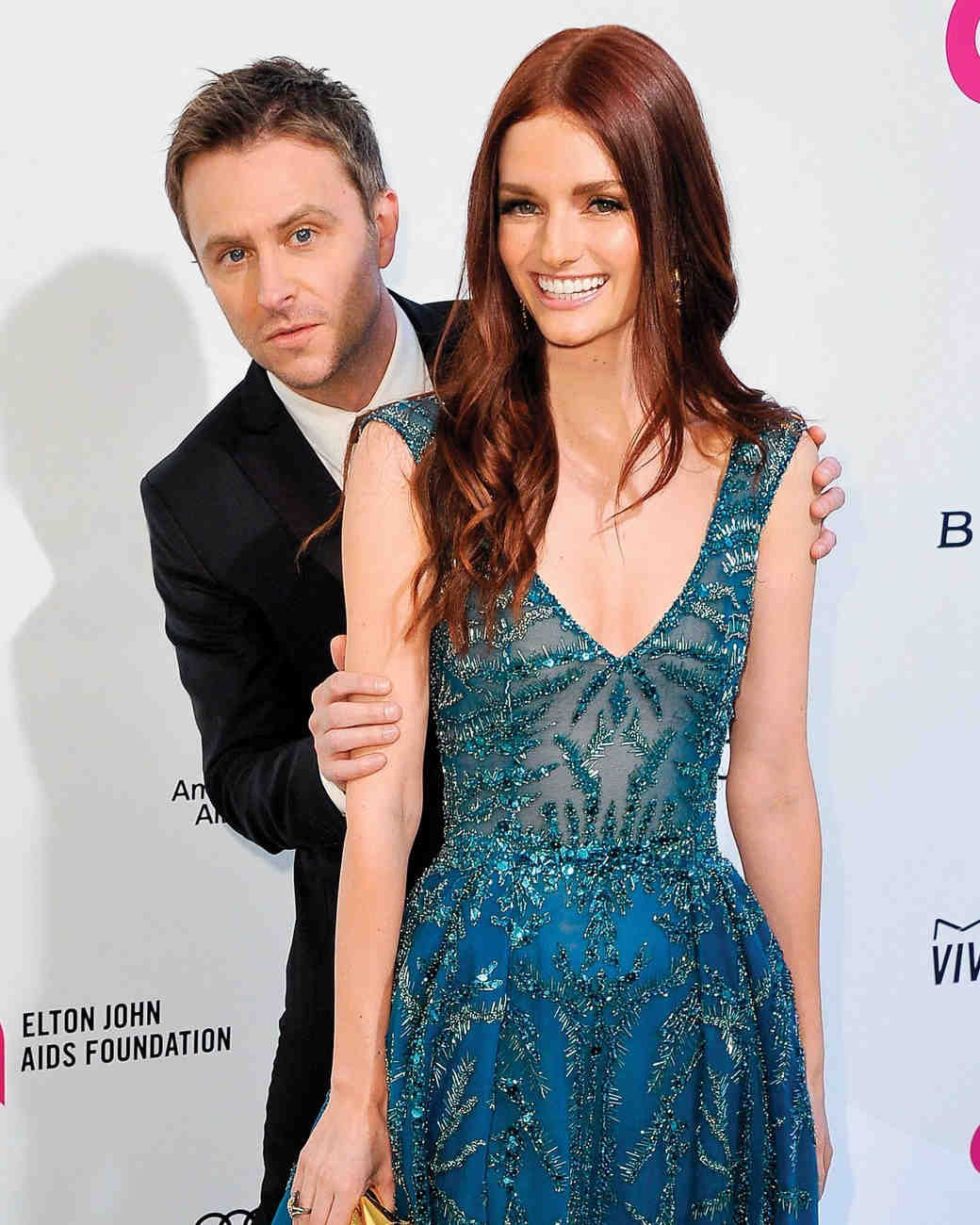 Chris Hardwick Proposed to Lydia Hearst with a Ring Pop—Really!