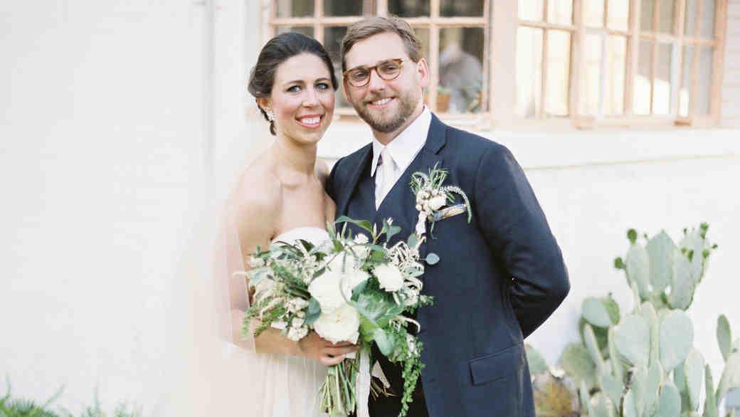 An Intimate Backyard Wedding in Oklahoma
