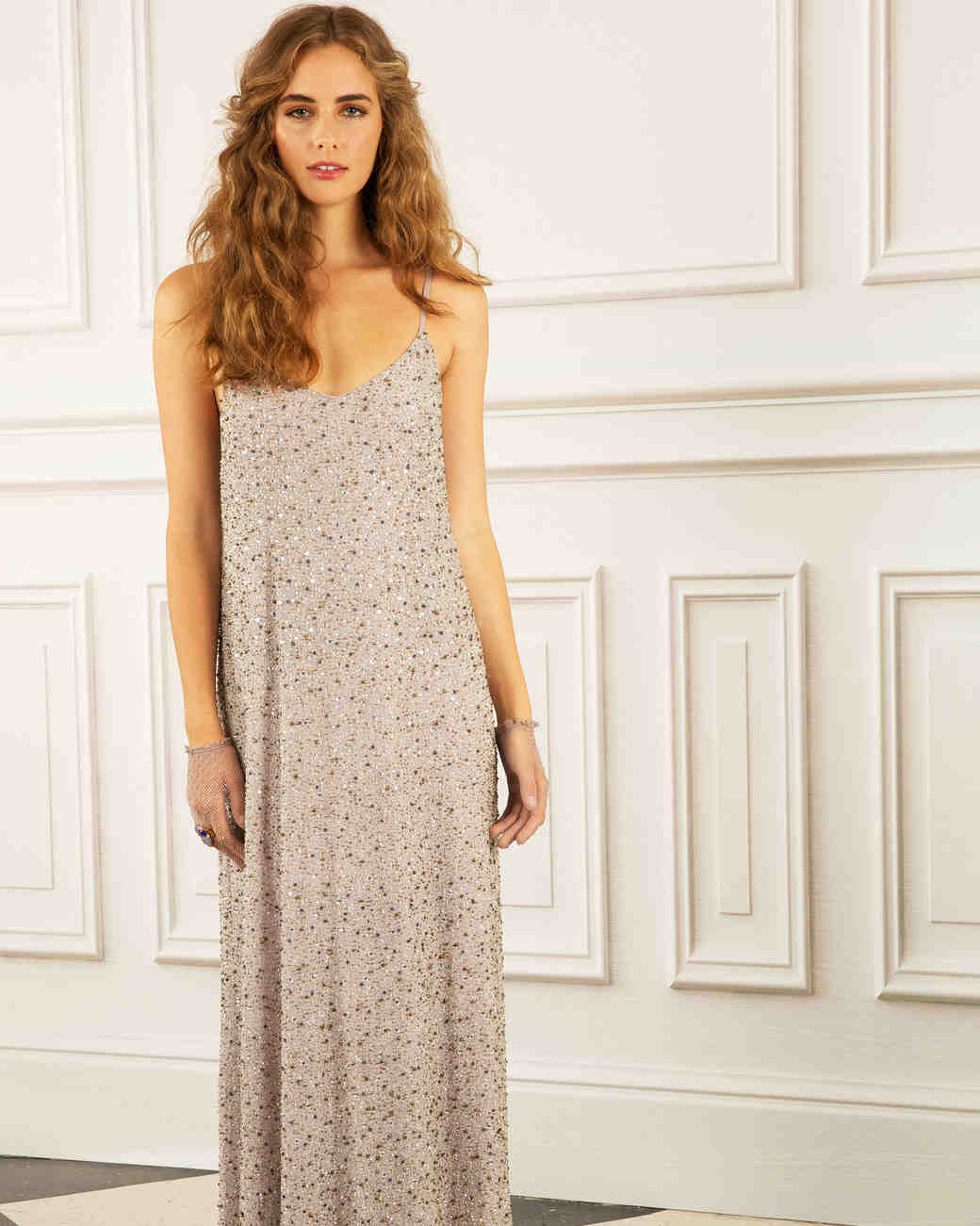 maria korovilas wedding dress spring 2017 slip sparkles