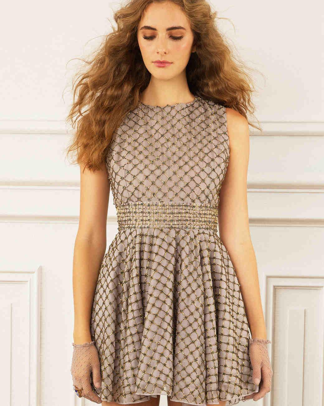 maria korovilas wedding dress spring 2017 short sleeveless pattern