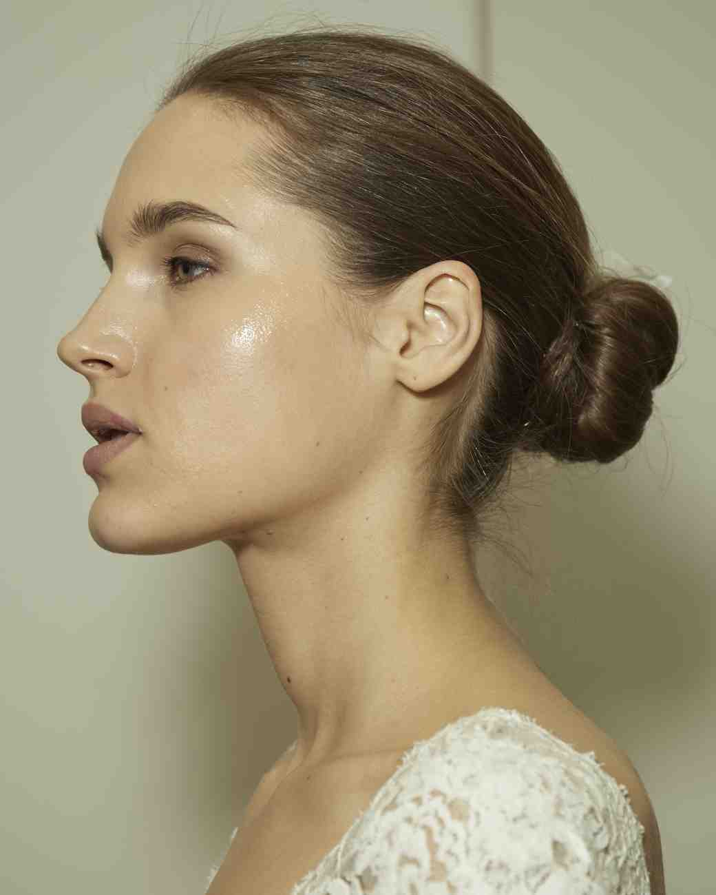 Monique Lhuillier Bridal Fashion Week Spring 2018 Beauty Look