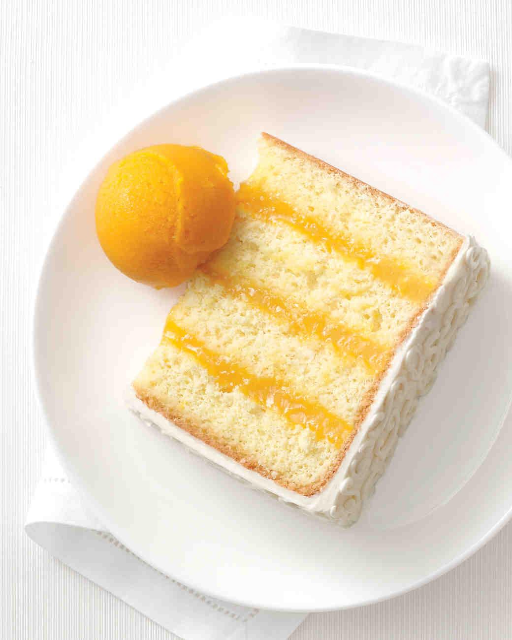 Orange And Passionfruit Cake Recipe