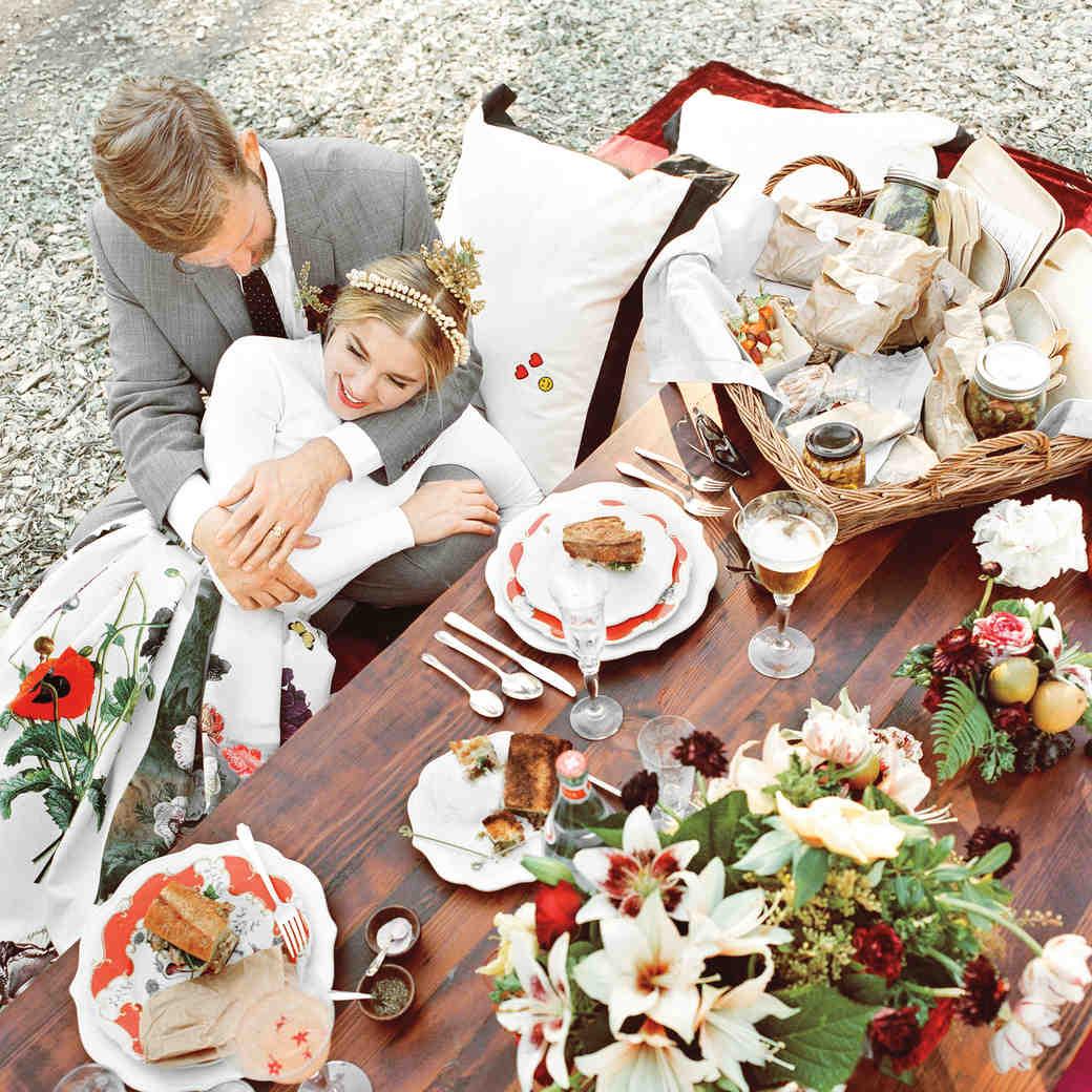 Petra and Marc's Chic Picnic Wedding in Santa Barbara