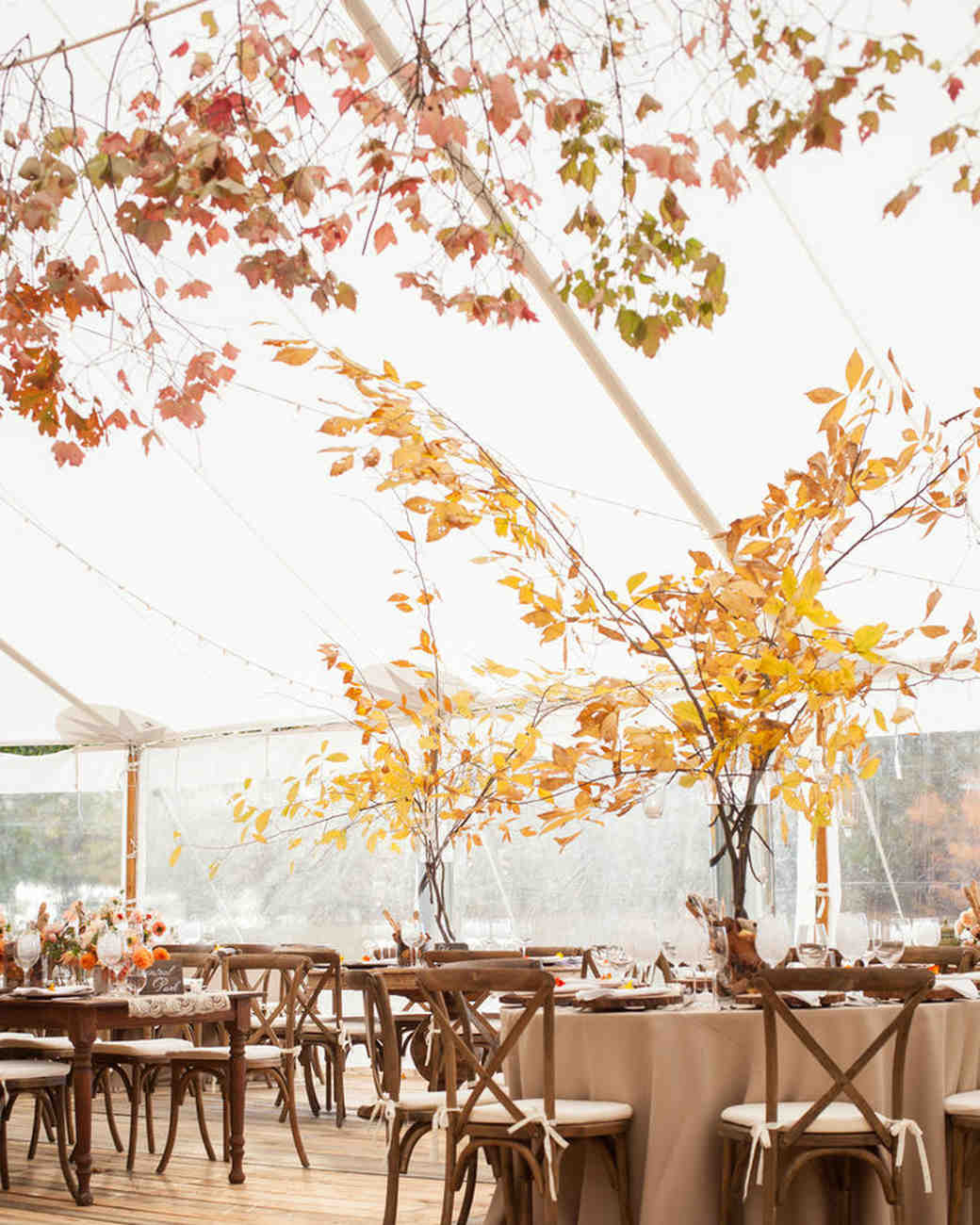 Fall Barn Wedding Ideas: 51 Rustic Fall Wedding Centerpieces