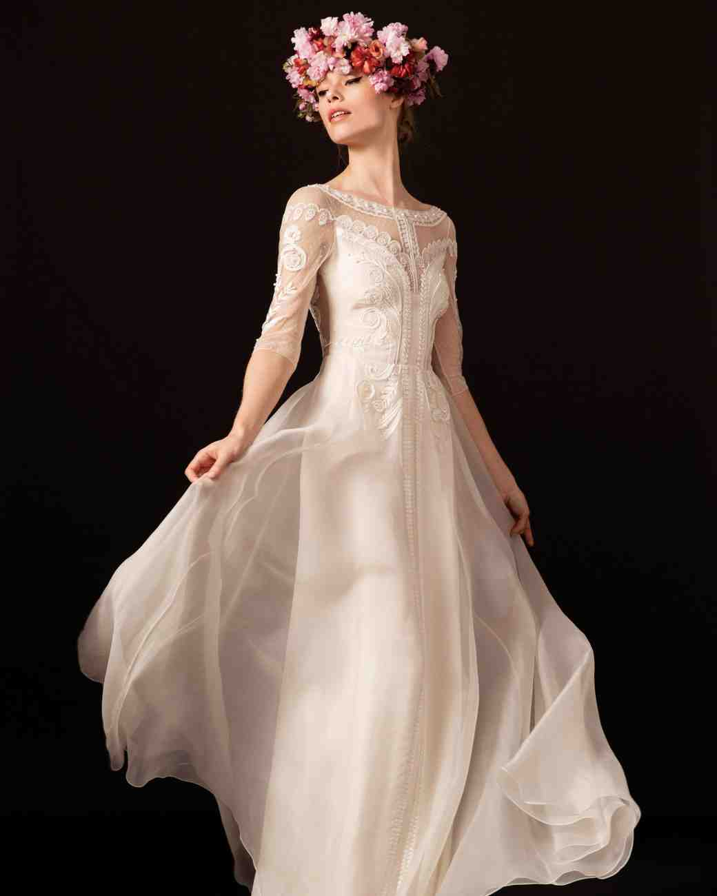 temperley long sleeve wedding dress spring 2018