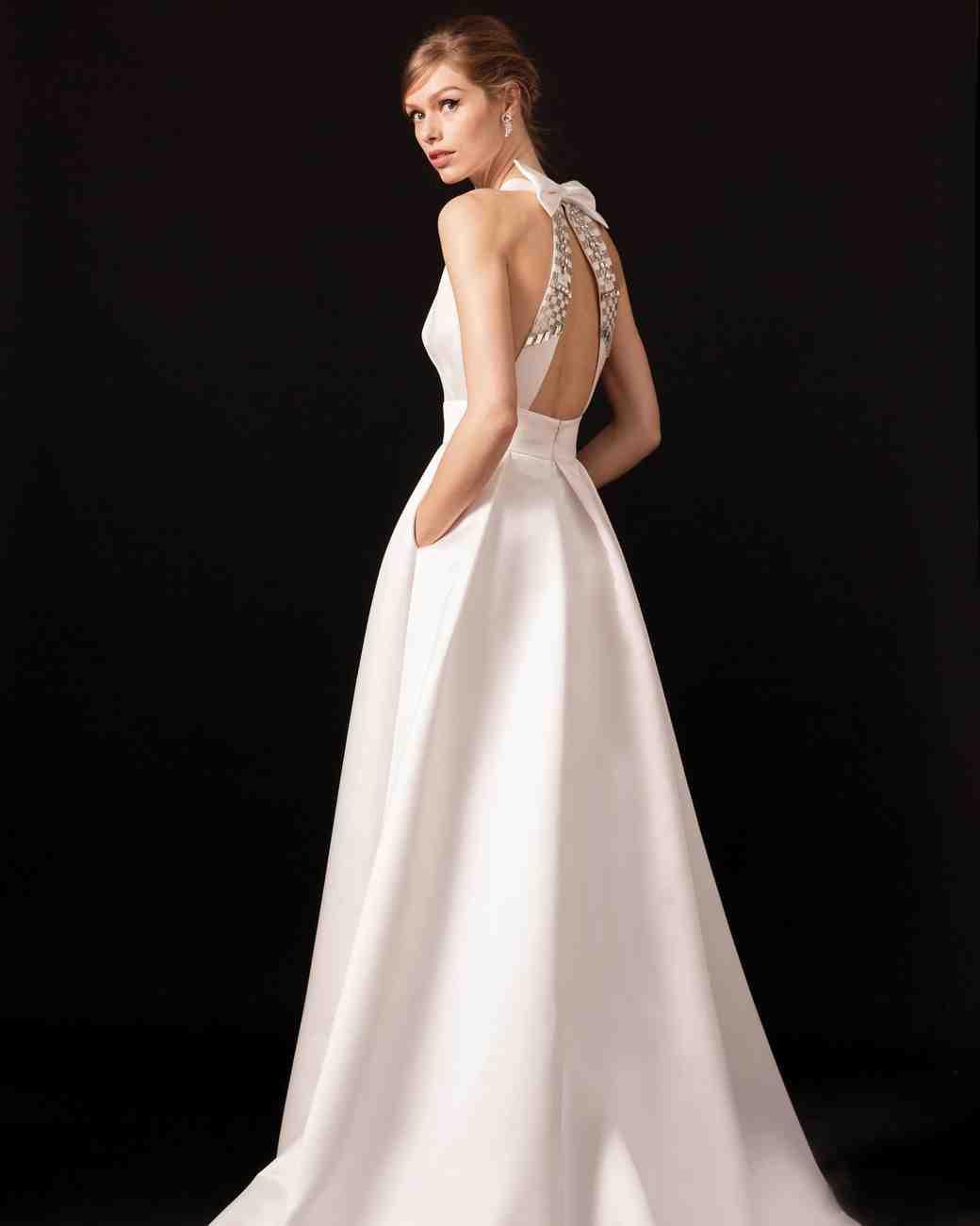 temperley bow back wedding dress spring 2018