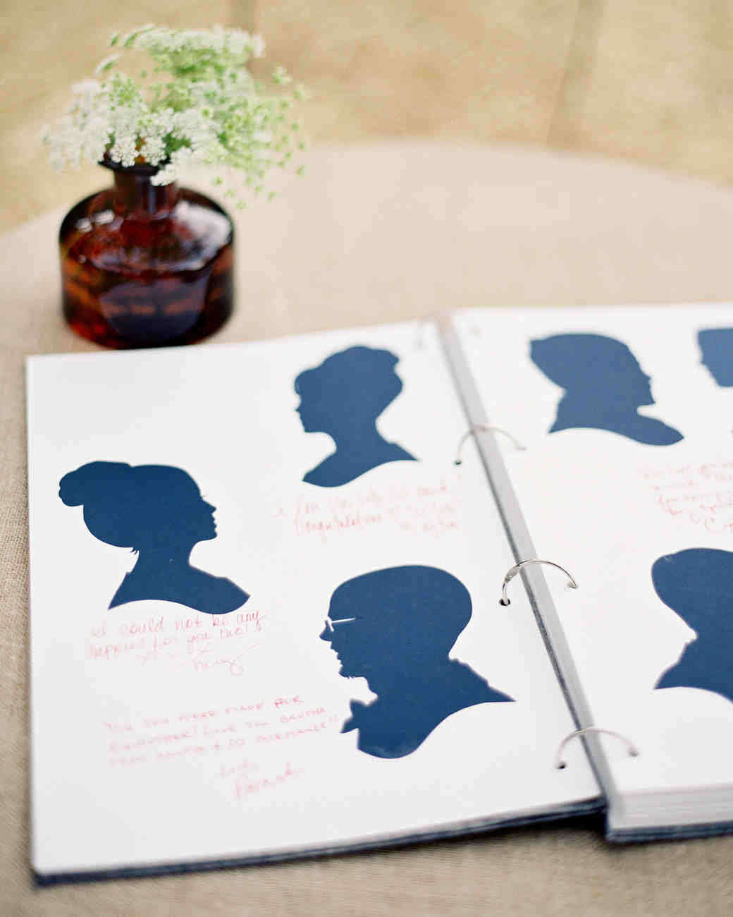 Silhouette Guest Book