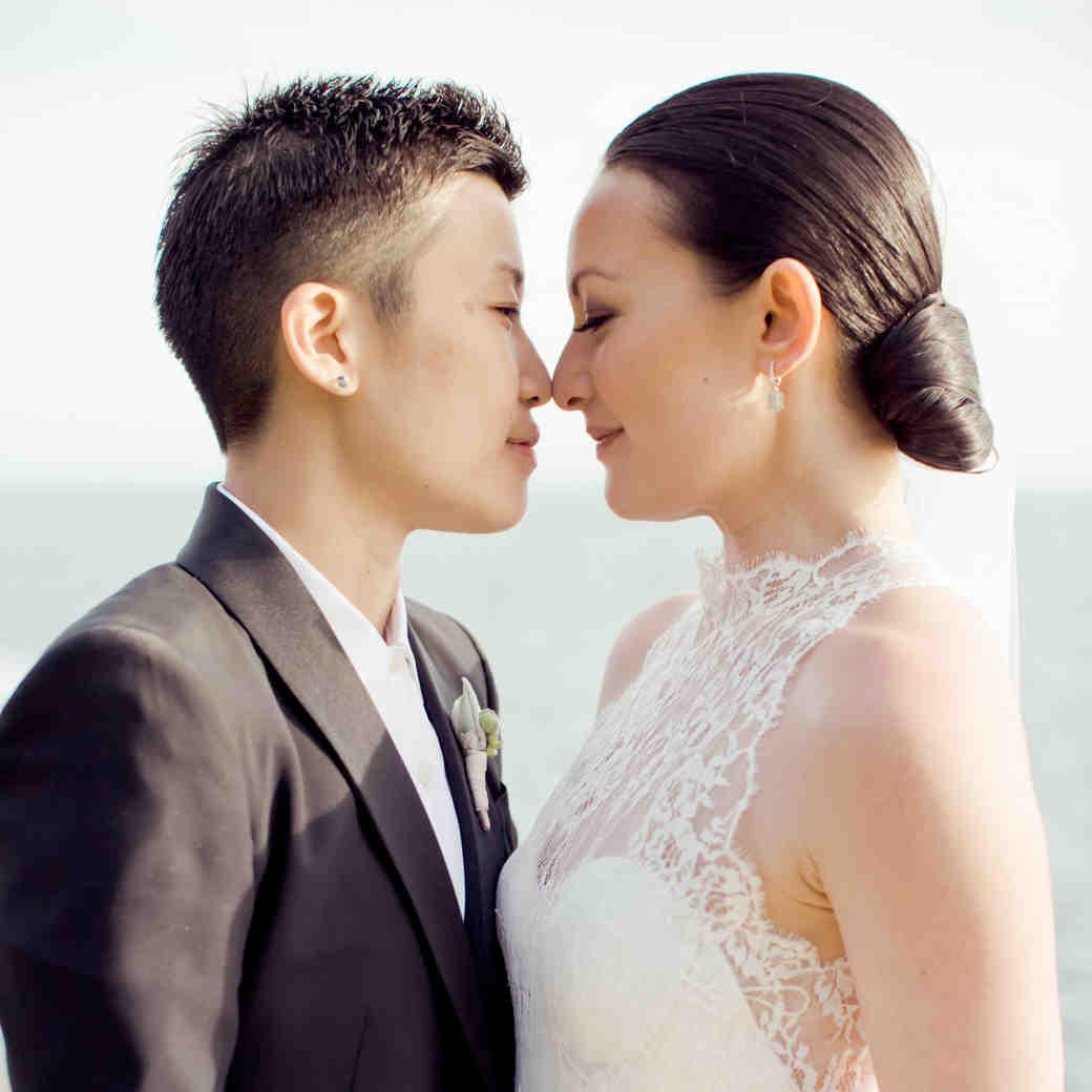 Emma and Michelle's Romantic Wedding on the California Coastline