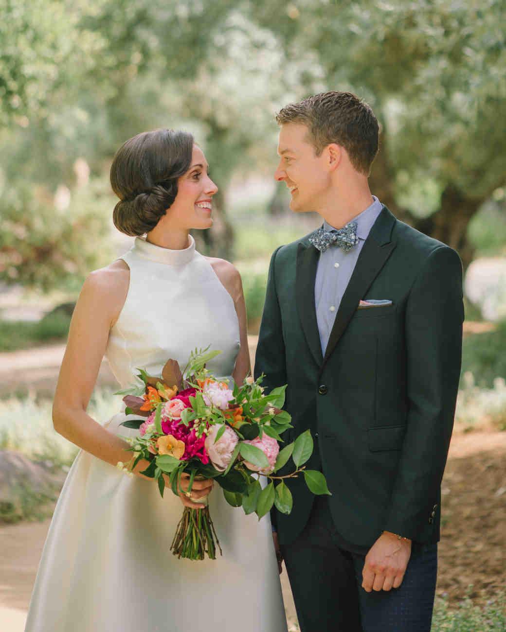 Hanna And Stephen S Wine Country Wedding Martha Stewart