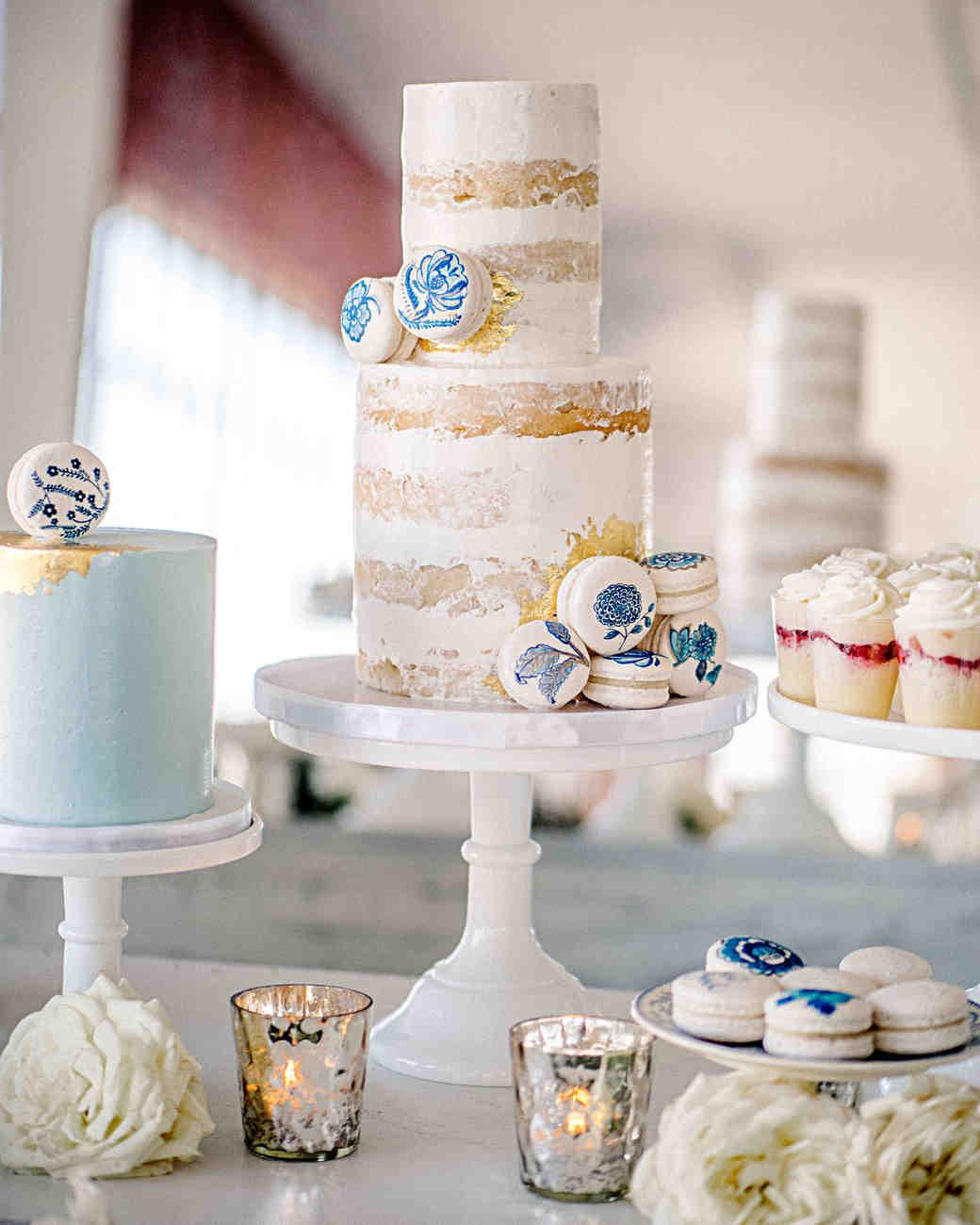 hannah steve wedding california cake