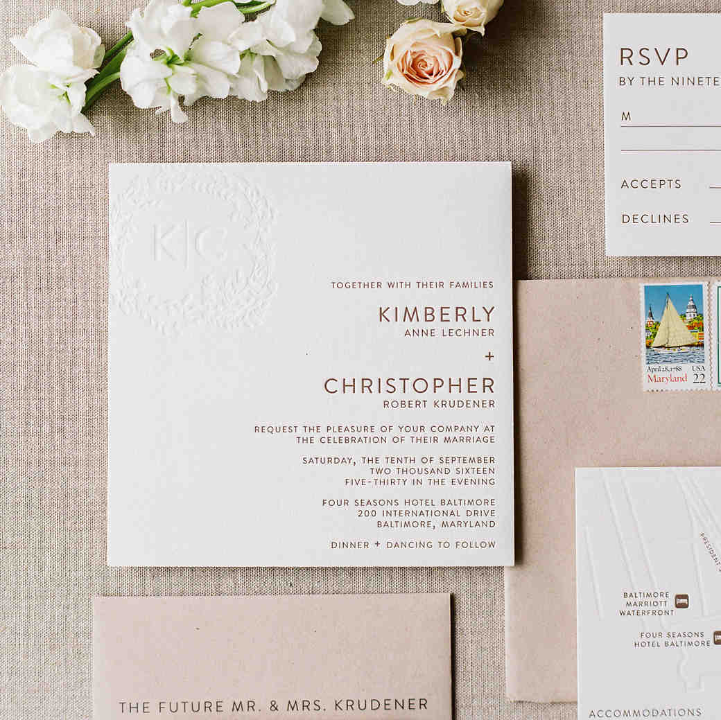 martha stewart wedding invitation protocol - 28 images - paper ...