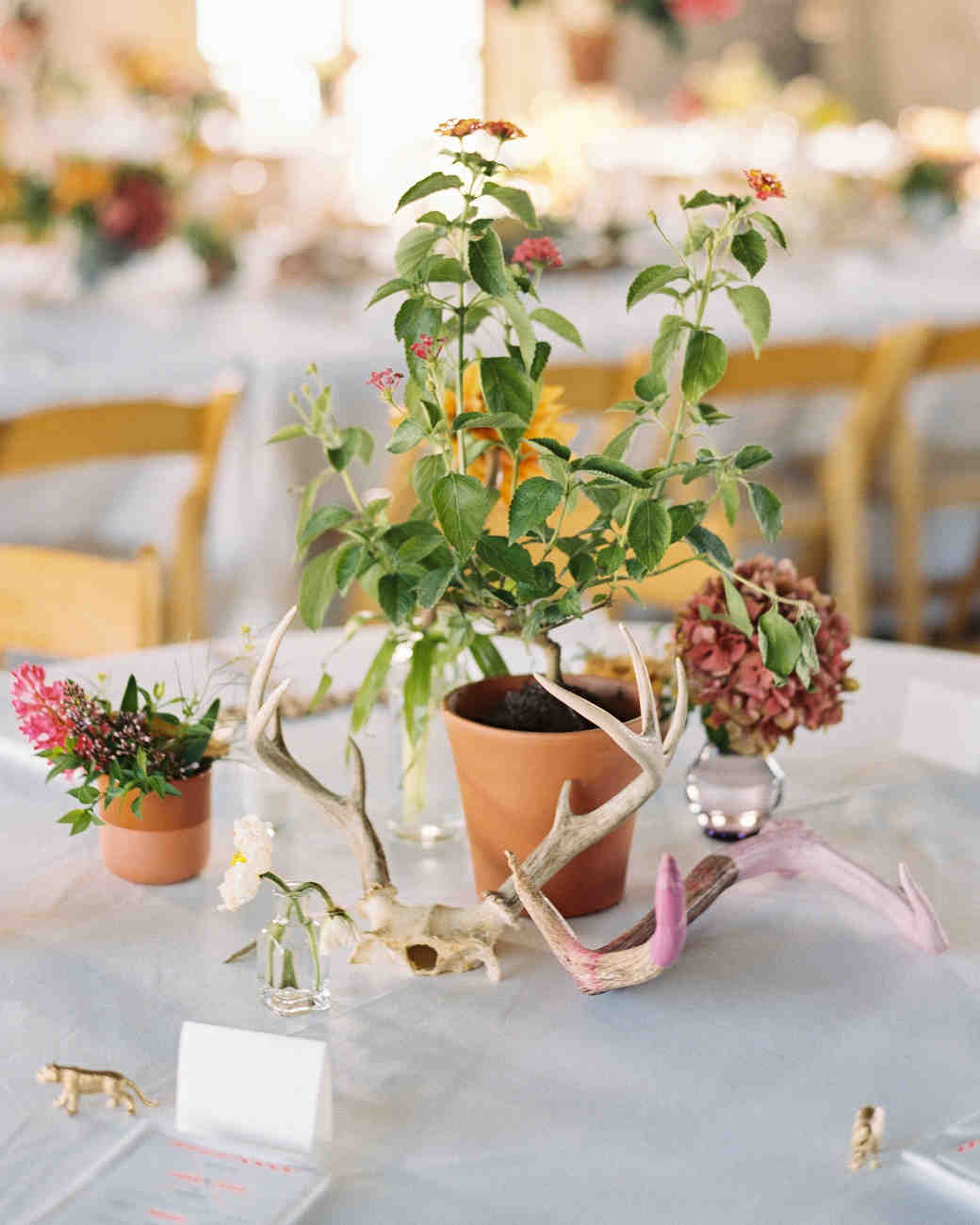 29 simple wedding centerpieces martha stewart weddings
