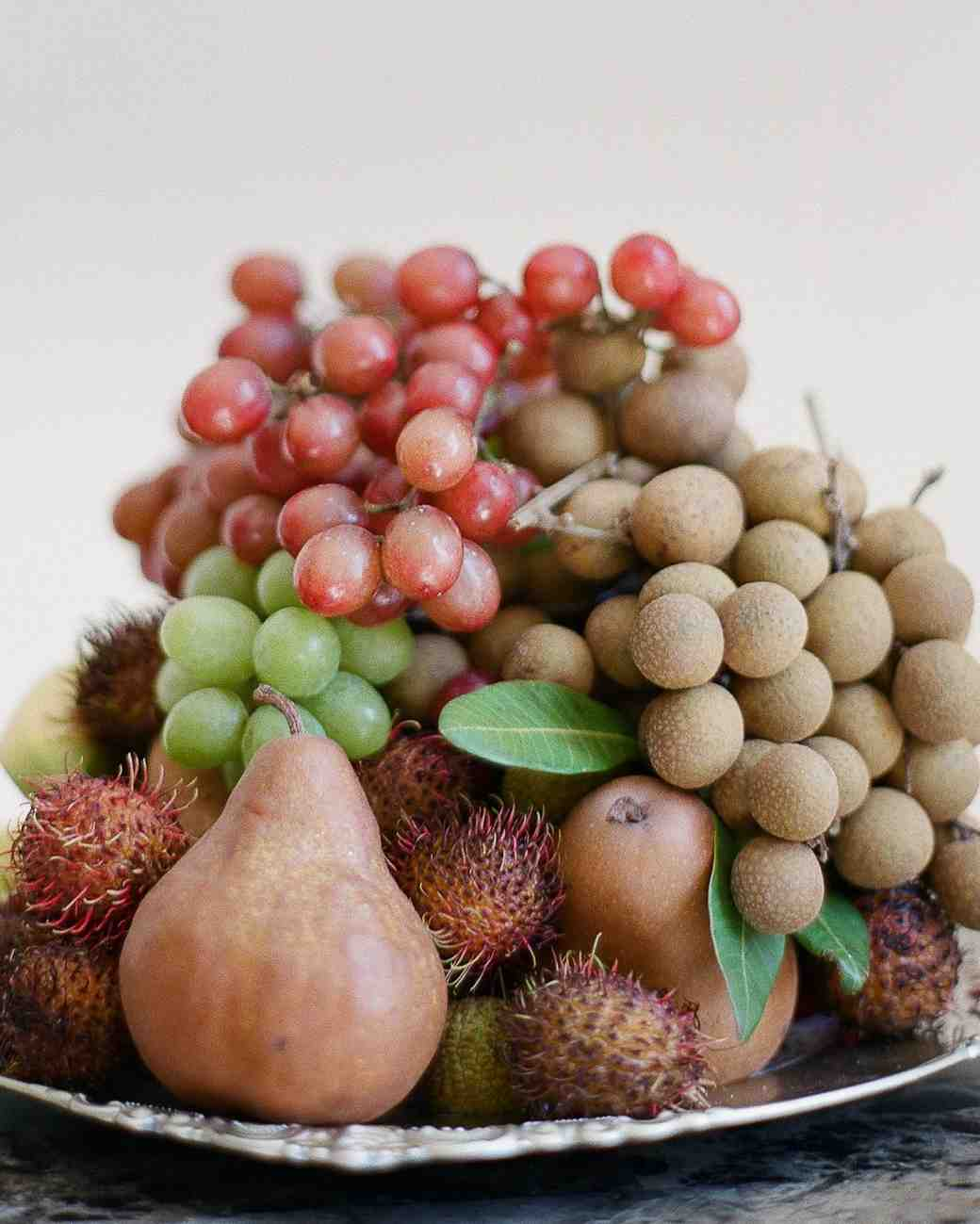 Linna Joe Cambodian wedding fruit
