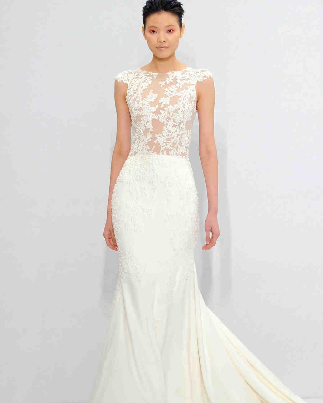 Mark zunino for kleinfeld fall 2017 wedding dress for Kleinfeld wedding dress designers