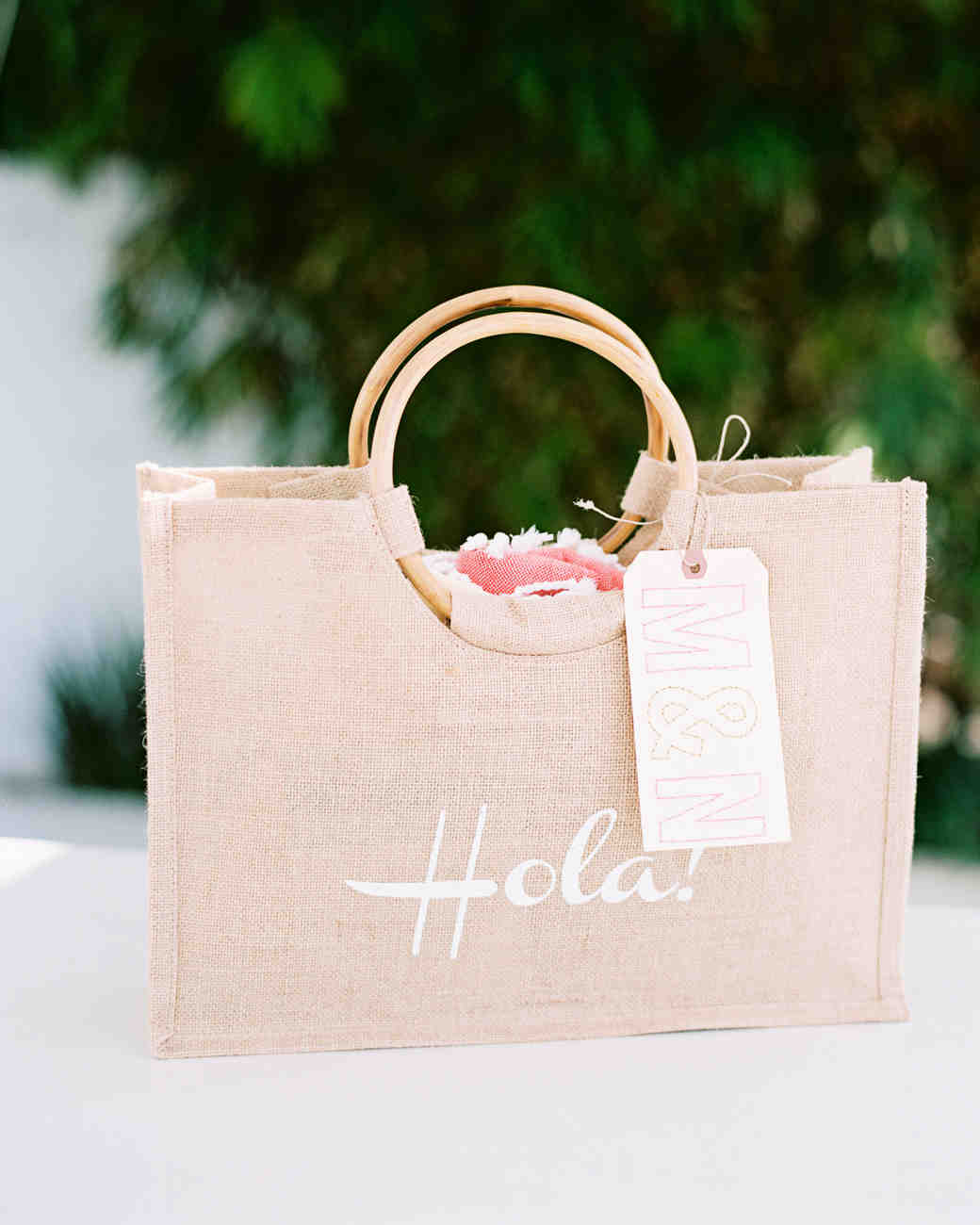 Beach Wedding Gift Bag Ideas : 69 Welcome Bags from Real Weddings Martha Stewart Weddings