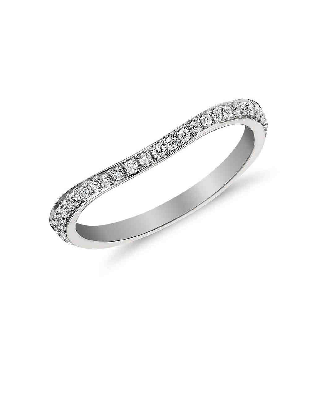 Wedding Bands That Pair Perfectly With Unique Engagement Rings  Martha  Stewart Weddings
