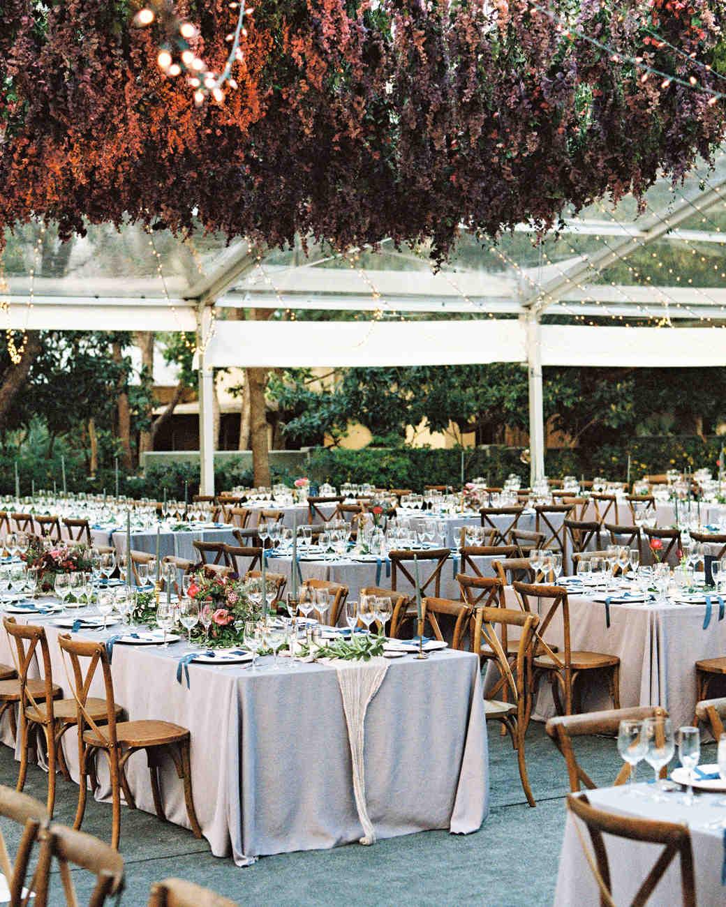samantha michael wedding tent