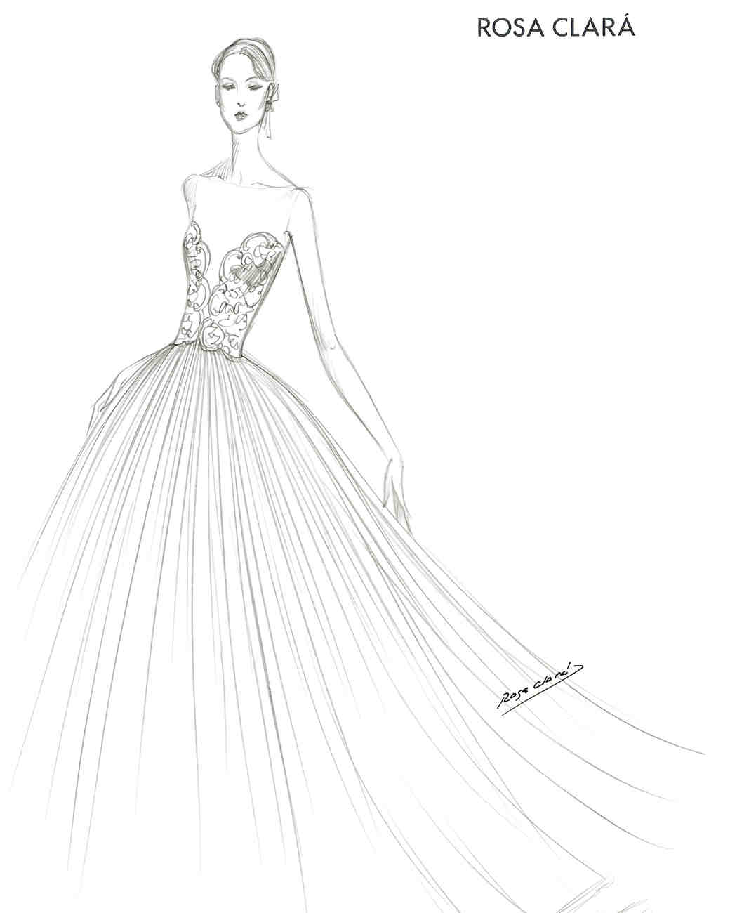 Spring 2018 BFW Sketches Rosa Clara