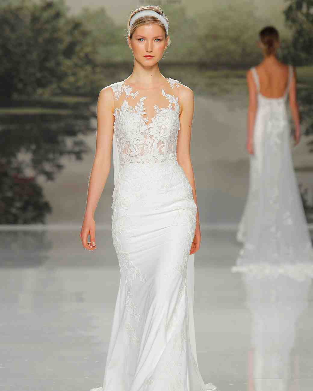 st patrick lace overlay spring 2018 wedding gown