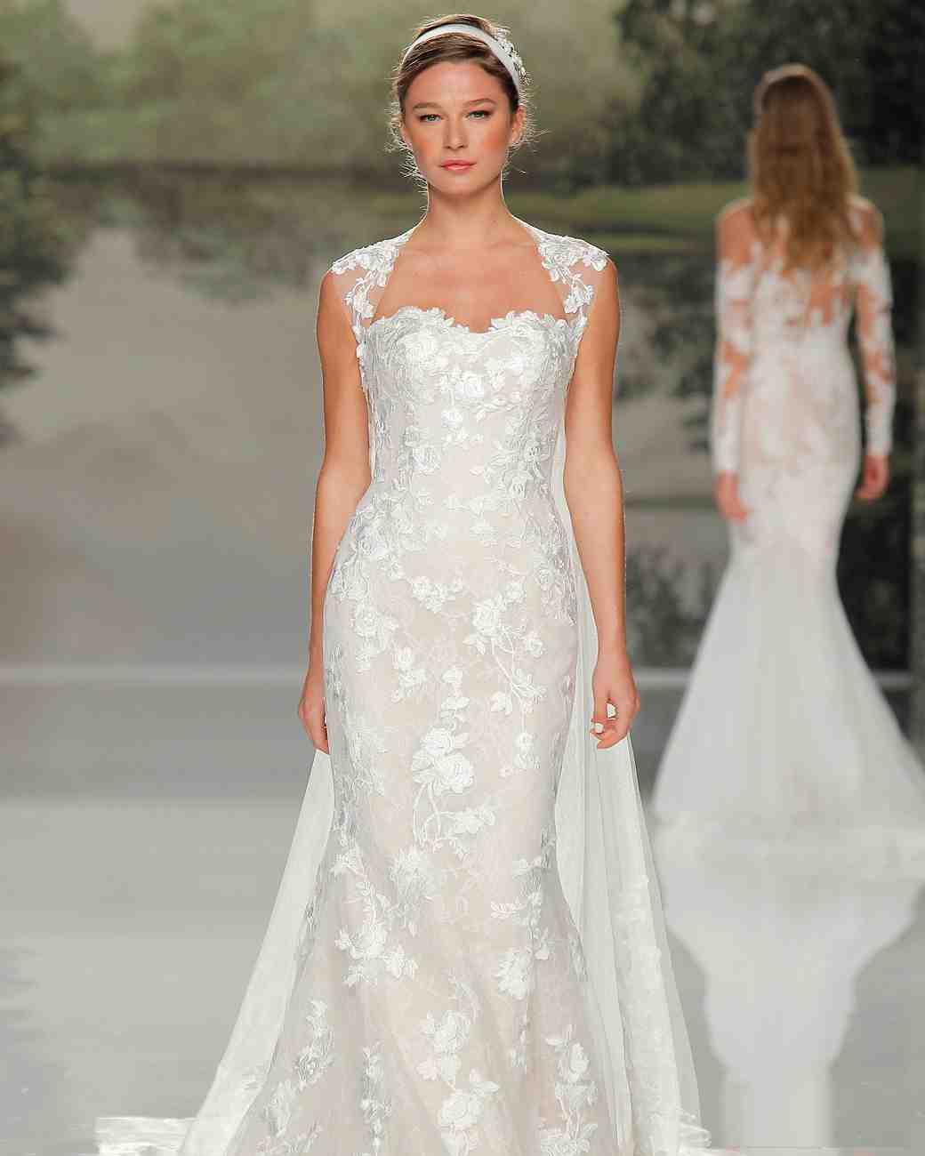 st patrick cap sleeve 2018 wedding gown