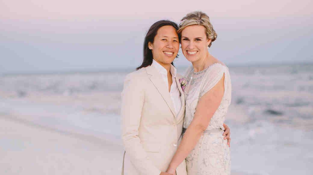 Teresa and Amanda's Florida Wedding on the Beach