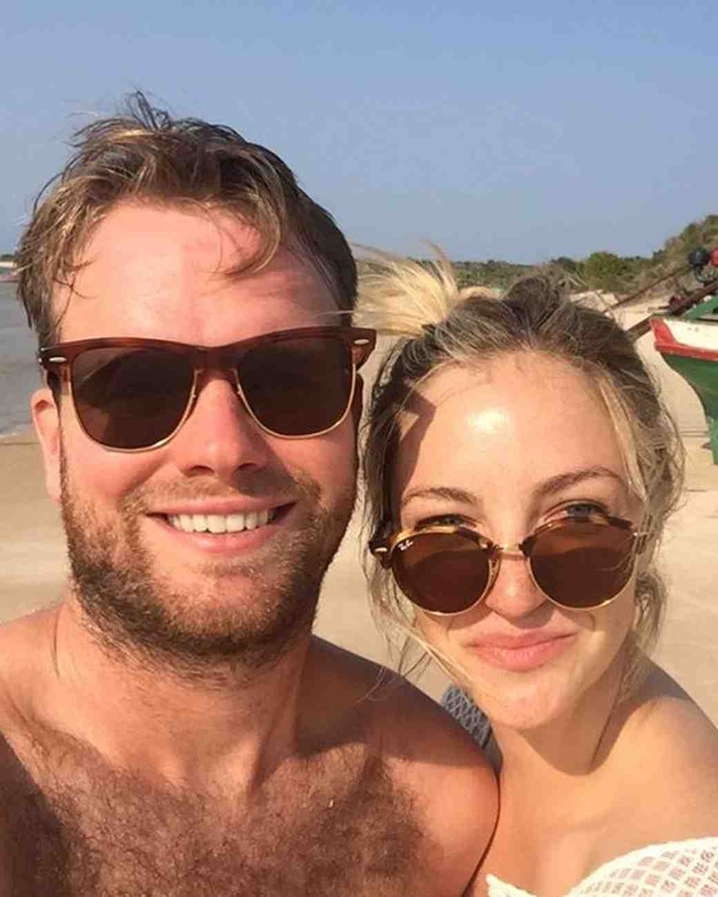 Abby Elliot Kennedy and Bill Kennedy on Honeymoon in Mozambique