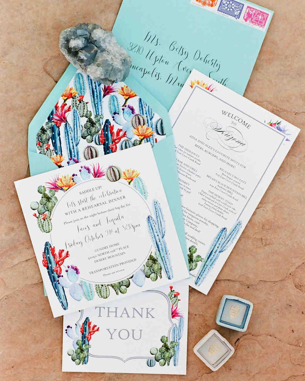addie alex wedding invite cacti
