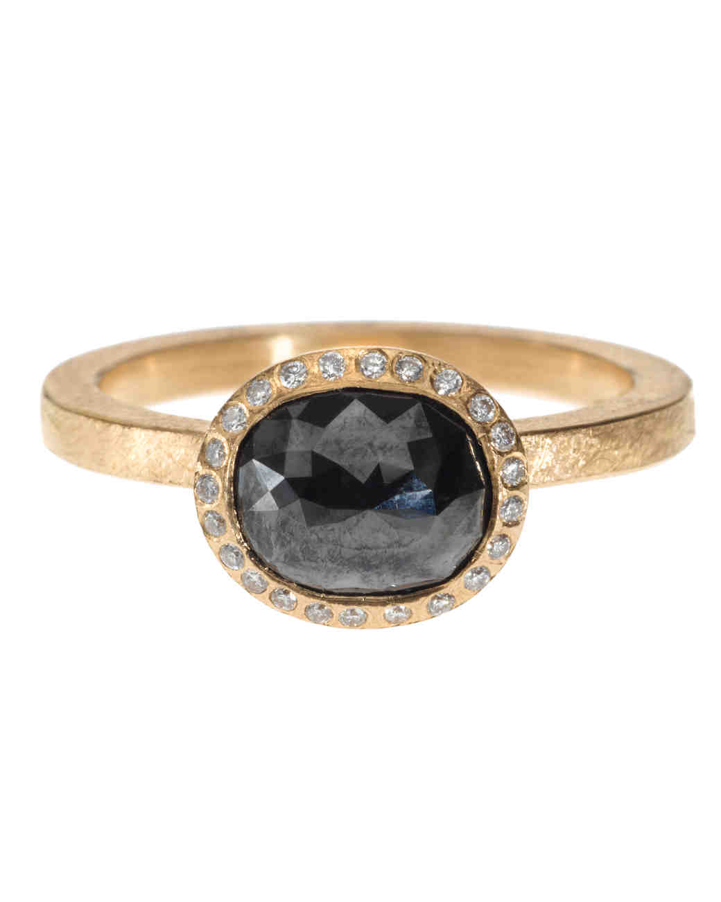 The New Lbd The Little Black Diamond Engagement Ring