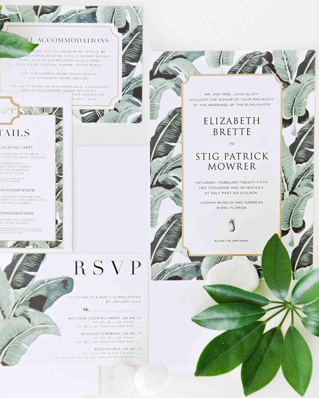 brette patrick wedding invites