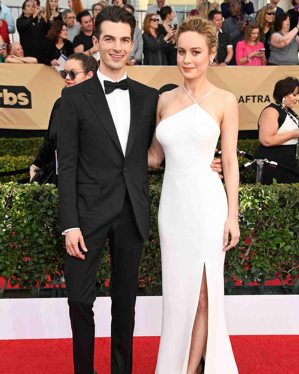 Brie Larson and Alex Greenwald Sag Awards 2017