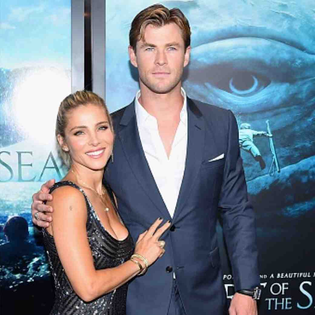 Chris Hemsworth and wife Elsa Pataky