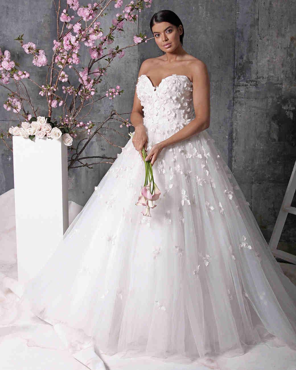 christian siriano dress spring 2018 sweetheart embellishment