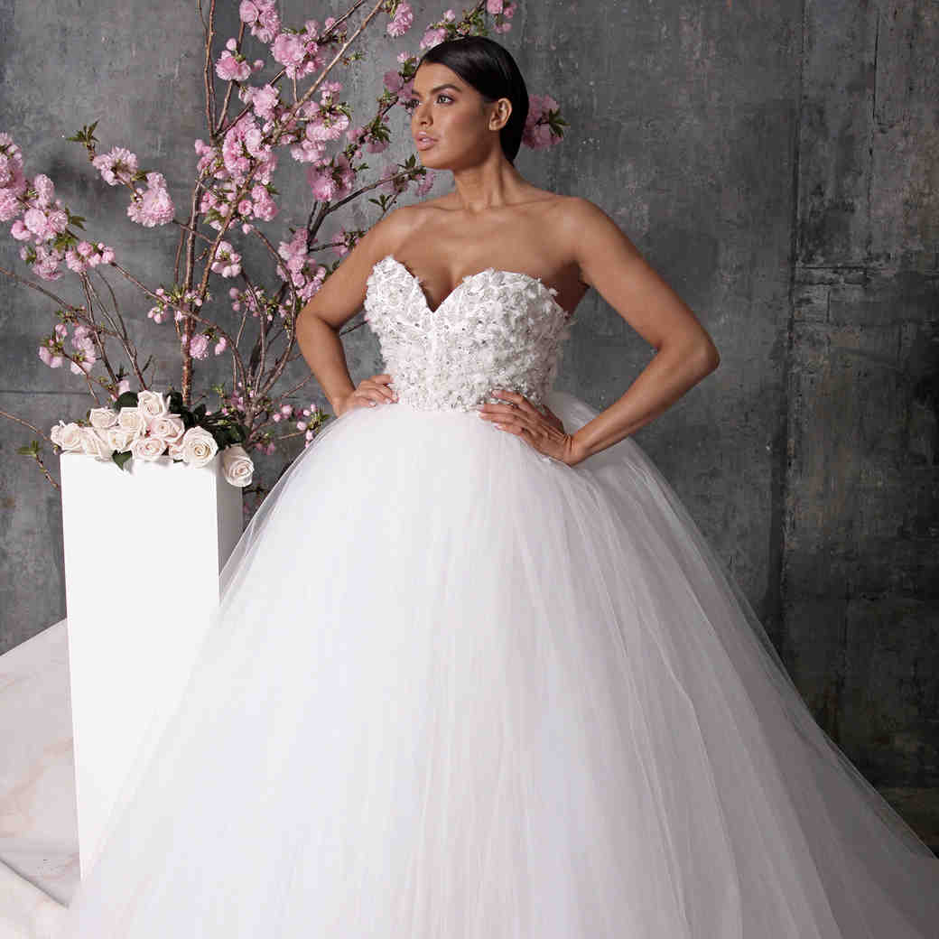 christian siriano dress spring 2018 sweetheart ballgown