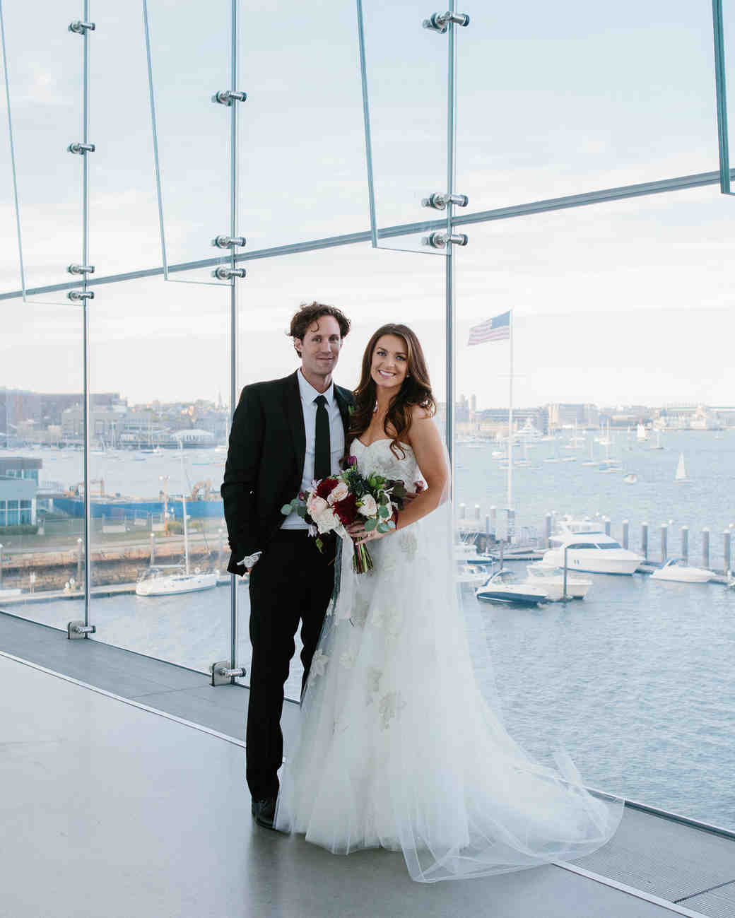 A Contemporary Wedding at a Boston Art Museum
