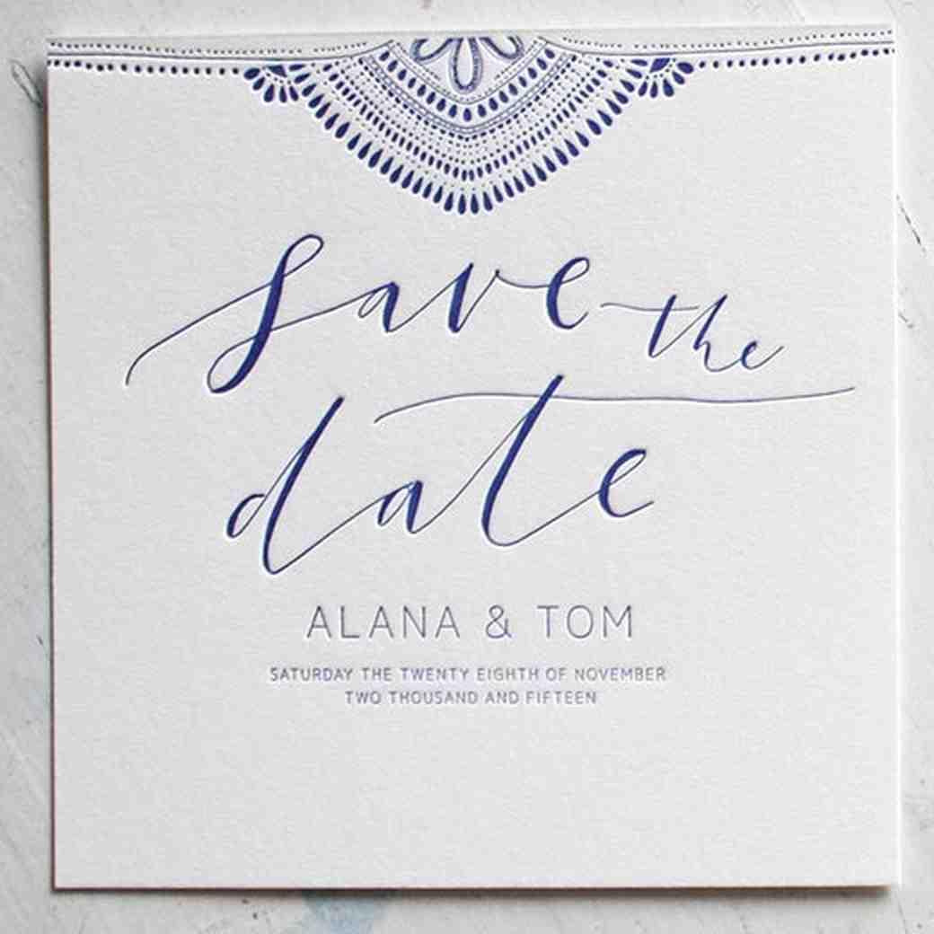 Save-the-Dates   Martha Stewart Weddings