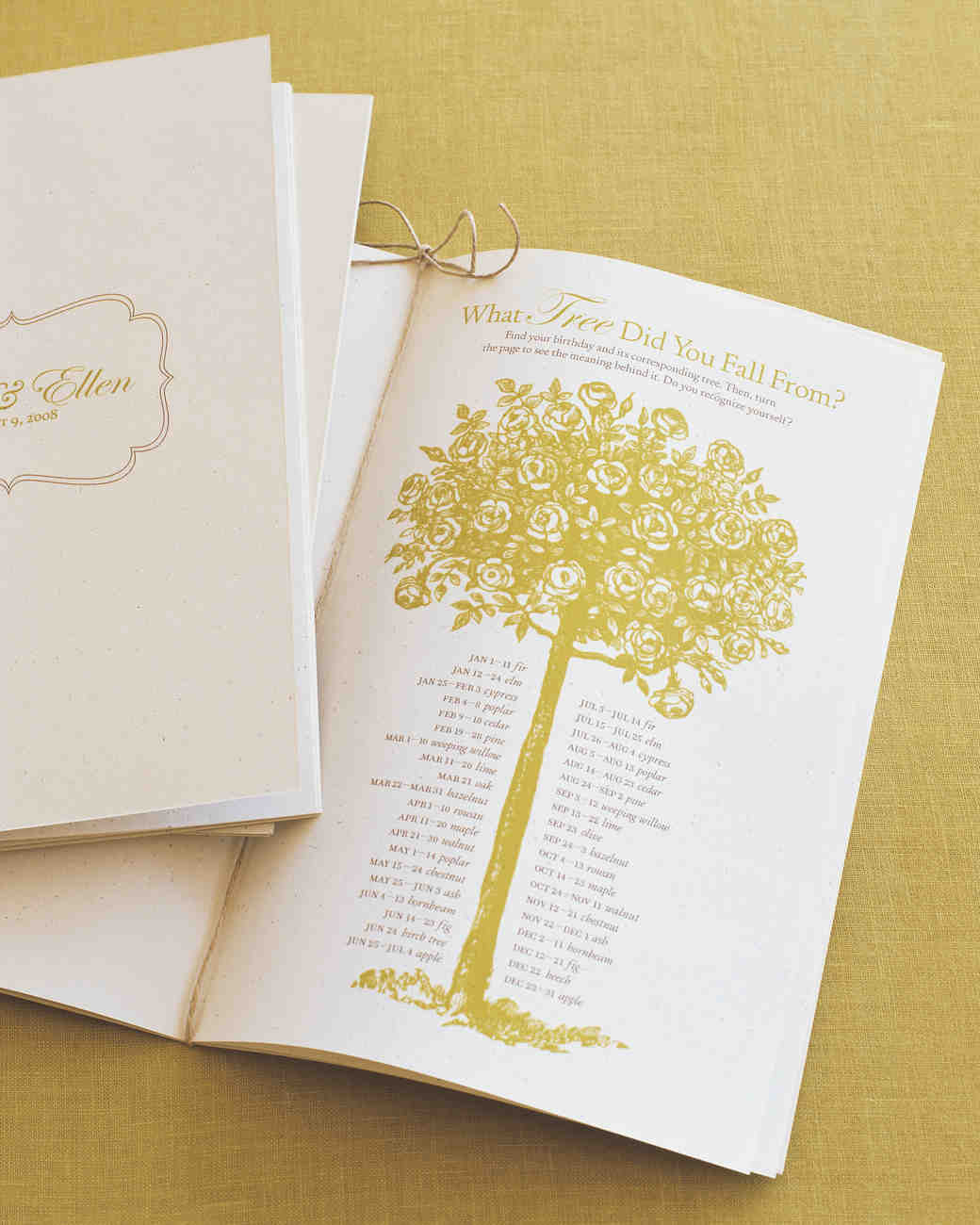 25 Ways To Upgrade Your DIY Wedding Programs