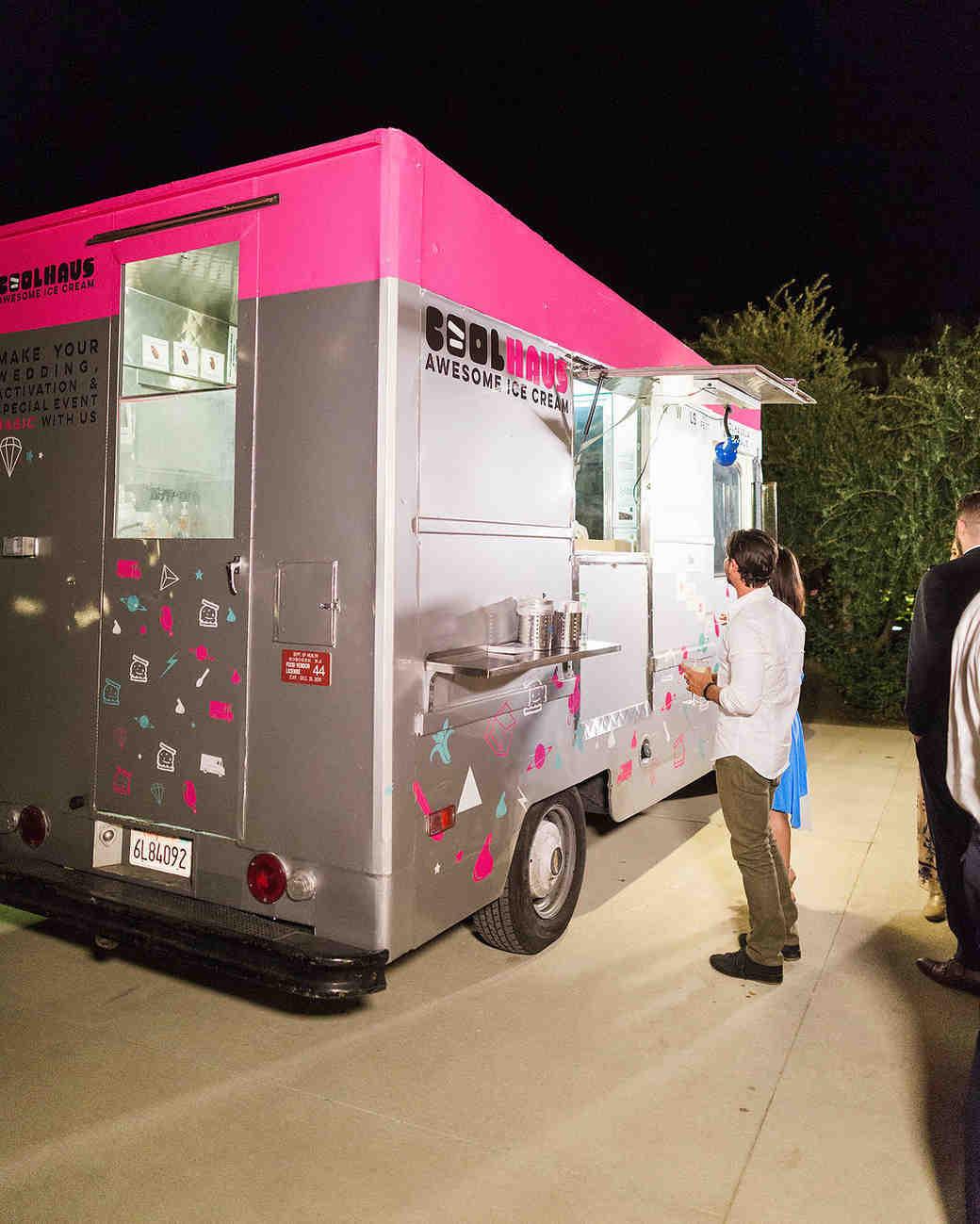 emily adhir wedding food truck