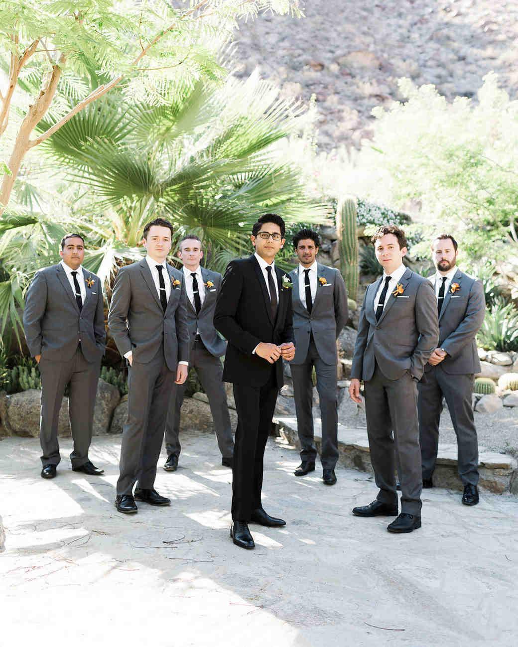 emily adhir wedding groomsmen